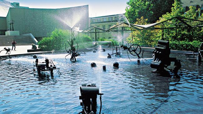 Basel: Fasnachtsbrunnen