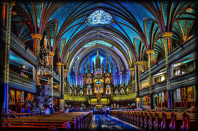 Notre-Dame_of_Montreal_Basilica
